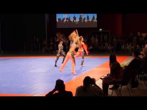 Disco solo female junior, Zuzana Trojakova, World Championship disco dance (Bochum, 2015)