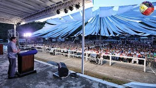 PRESIDENT DUTERTE GRACES 58th FOUNDING ANNIVERSARY OF SOUTHERN LEYTE MAASIN CITY