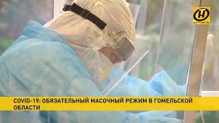 Коронавирус в Беларуси В Гомельской области ввели масочный режим
