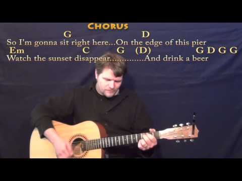 Drink A Beer (Luke Bryan) Strum Guitar Cover Lesson In G With Chords/Lyrics