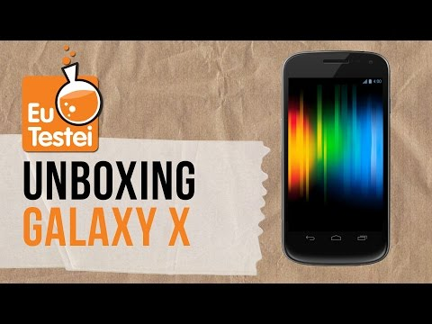 Galaxy X (Galaxy Nexus) GT-I9250 Samsung Smartphone - Vídeo Unboxing EuTestei Brasil