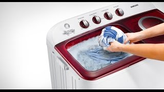 samsung washing machine Twin WT80H3200MGFH Review