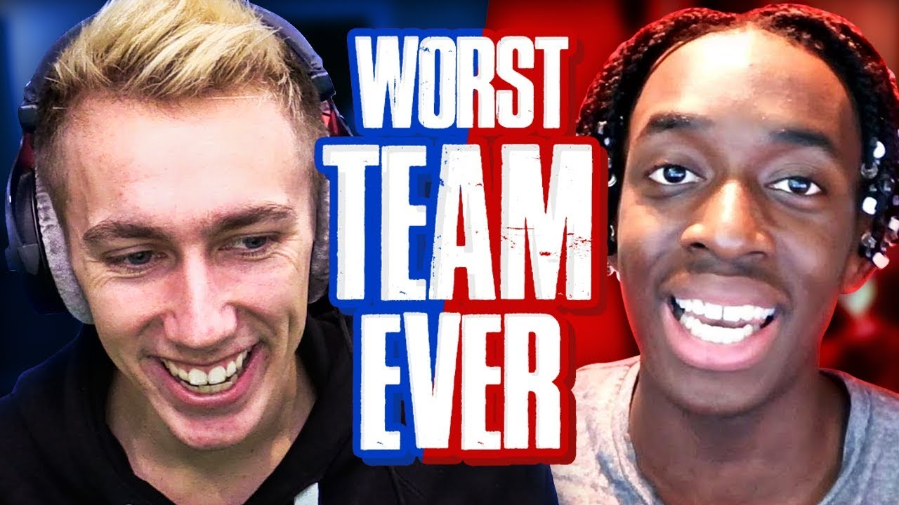 THE WORST TEAM EVER...