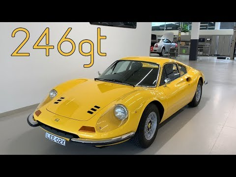 Ferrari Dino 246 GT Classic Car Review - Back from Restoration