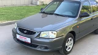 Hyundai Accent, 2006 186 581 км, 1.5, MT (92 л.с.), седан, передний, бензин