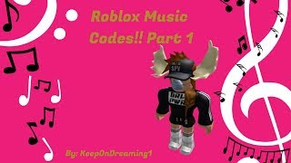 Roblox Music Codes!! Part 1