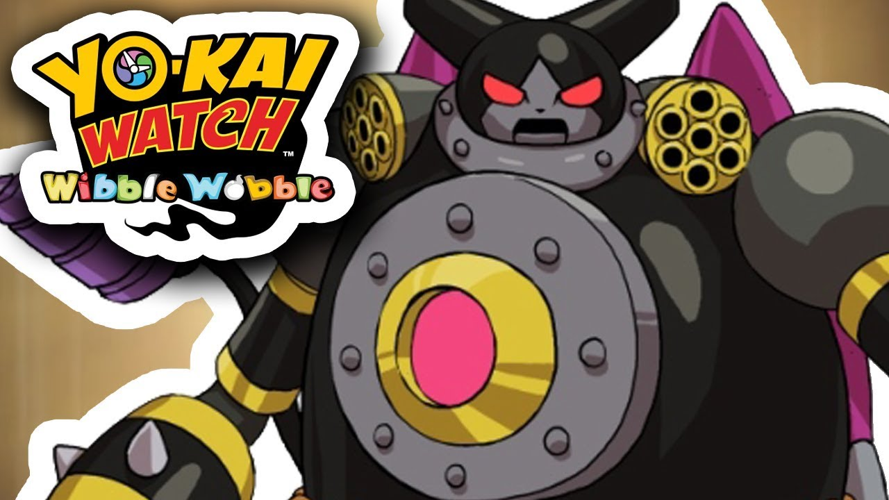 Yo Kai Watch Wibble Wobble 64 Robonyan 3000 Decolle
