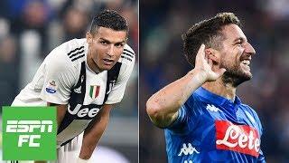 Ronaldo scores but Juventus' draw vs. Genoa allows Napoli to gain ground   Serie A Highlights