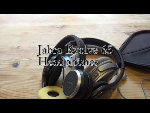 Business headphones with audio quality : Jabra EVOLVE 65 wireless review