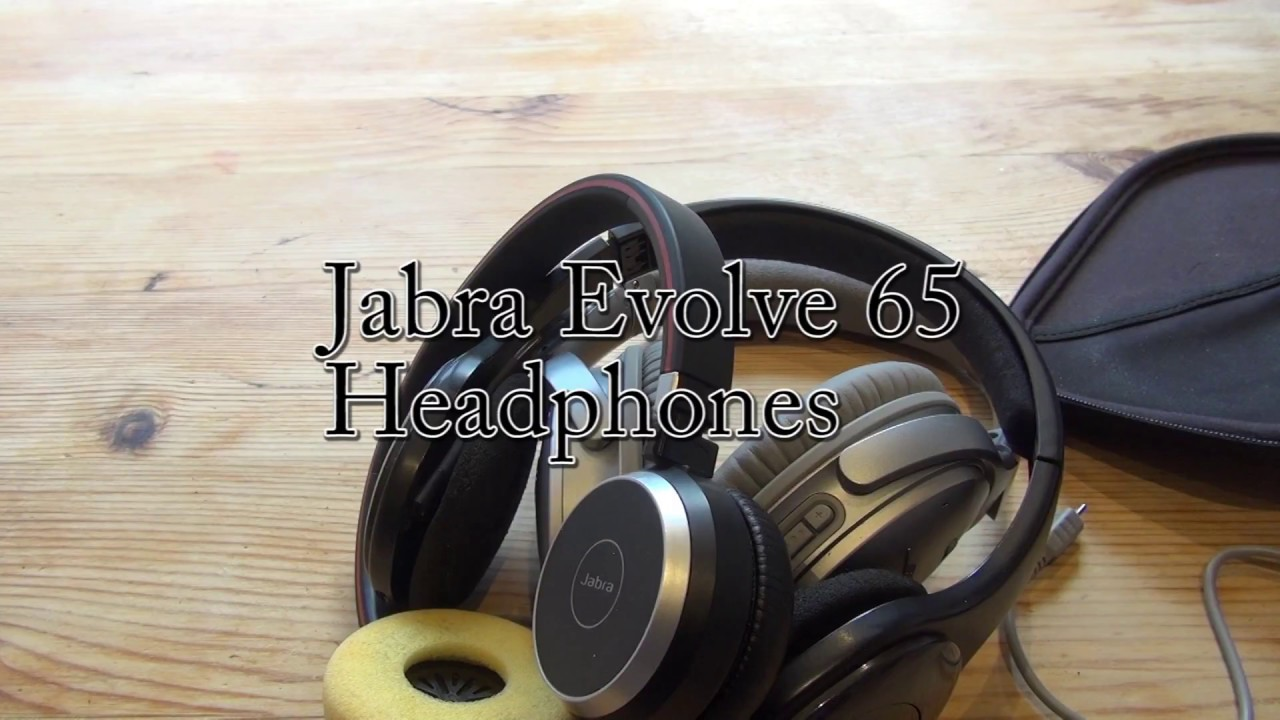 Business Headphones With Audio Quality Jabra Evolve 65 Wireless Review Youtube