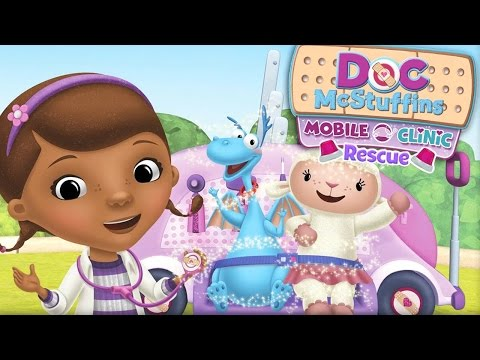 Doc McStuffins: Mobile Clinic - Doc On The Trail - Toy Rescue Game - Disney Junior App For Kids
