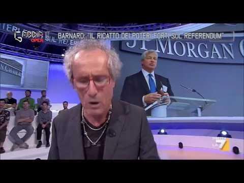 Paolo Barnard: 'Il ricatto dei poteri forti sul referendum'