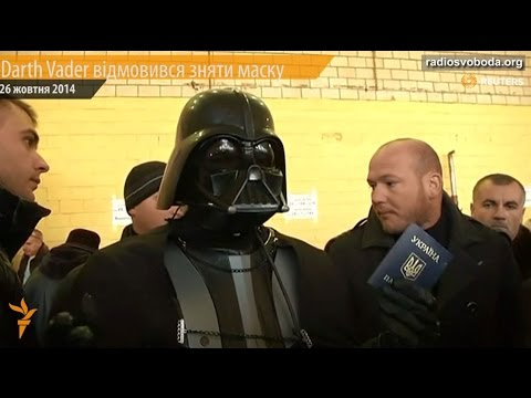 Darth Vader Not Allowed To Vote In Ukraine Elections