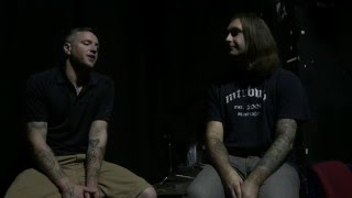 Josh Eppard of Coheed and Cambria MTRBWY Australian interview 2016