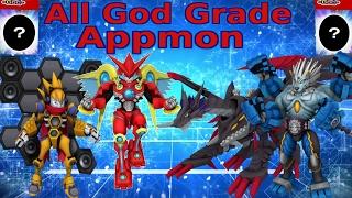 All God Grade Appmon And Gaiamon Finally Revealed