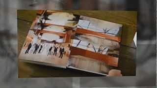 "Italian Seamless 12x16"" Graphistudio wedding album of Sparkling Hill Resort wedding in Vernon, BC"