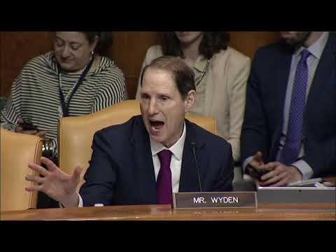 Wyden: Statement on GOP Tax Plan at Senate Budget Committee