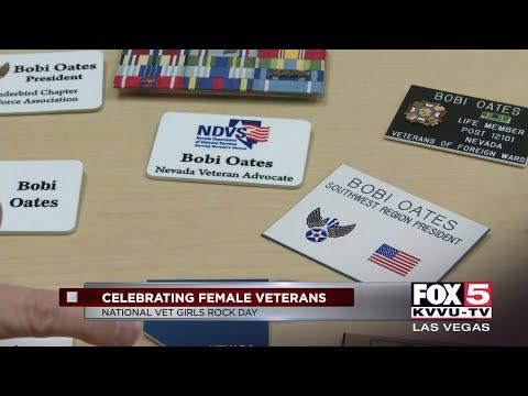 Celebrating female veterans