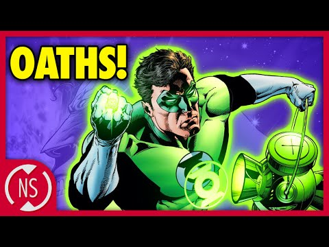 The Confusing History of the GREEN LANTERN Oath! || Comic Misconceptions || NerdSync