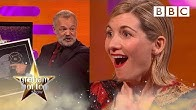 Jodie Whittaker surprised with Silver Disc for Coldplay's Yellow cover | Graham Norton Show - BBC