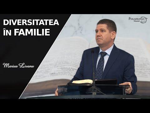 Marius Livanu    Diversitatea în familie