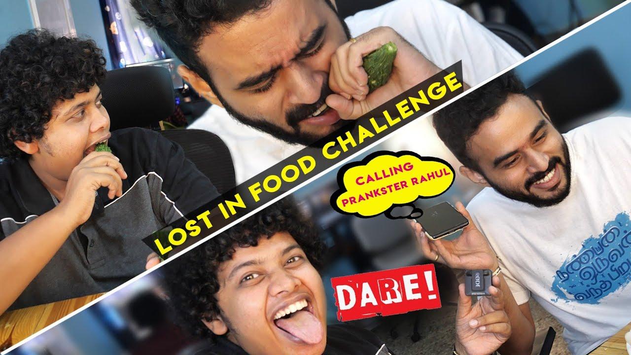 Food Challenge - PAVAKKAI With RJ Vijay | Dare - Calling Prankster Rahul!!