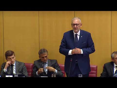 Ministar unutarnjih poslova Davor Božinović na aktualnom satu u Hrvatskom saboru