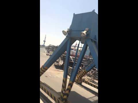 In Kuwait port