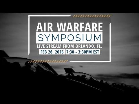 Live at the Air Warfare Symposium Feb 26
