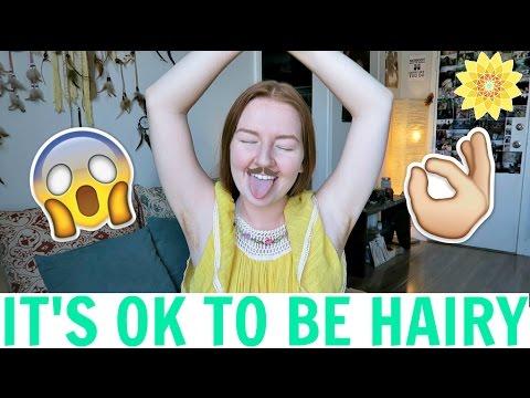 IT'S OK TO BE HAIRY | BIG SIS ADVICE | MEGHAN HUGHES