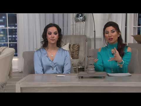 Alex and Ani Swarovski Crystal Bangle on QVC