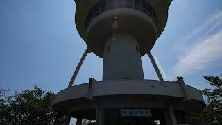 姫路・手柄山回転展望台 喫茶店「手柄ポート」 移動風景 (4K)