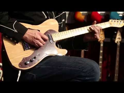 The New Fender American Deluxe Telecaster Thinline  •  NAMM 2014