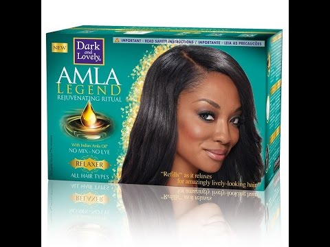 Dark and Lovely Amla Legend Relaxer Review