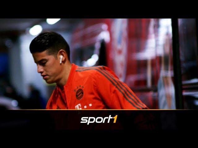 James Rodriguez verlässt FC Bayern: Das sind seine Optionen | SPORT1