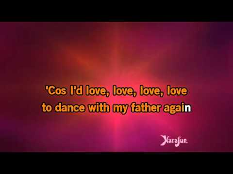 Karaoke Dance With My Father   Céline Dion