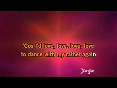 Karaoke Dance With My Father   Céline Dion