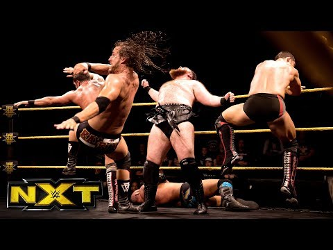 SAnitY vs. Undisputed ERA - Six-Man Tornado Tag Team Match: WWE NXT, Feb. 7, 2018