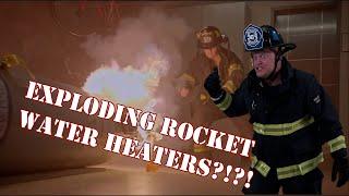 Green screening myself into Station 19's Rocket Water Heater crap show.