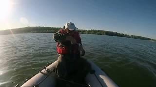 Отдыхаем и рыбачим на Правдинском водохранилище