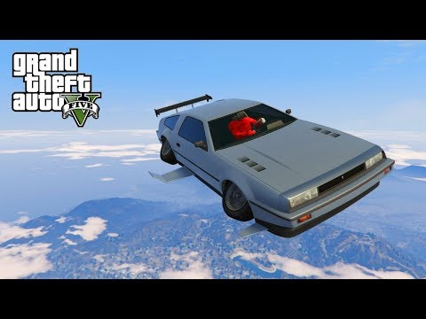 GTA V - VLIEGENDE AUTO PIMPEN UIT BACK TO THE FUTURE! (Doomsday Heist DLC) thumbnail