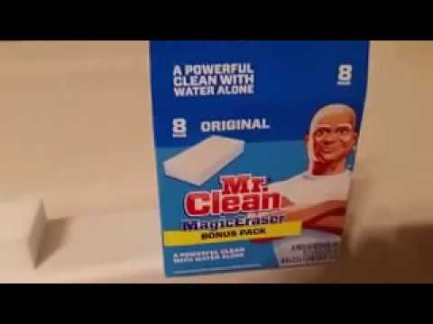 Easy How to Clean a Bathtub Spotless with a Magic Eraser