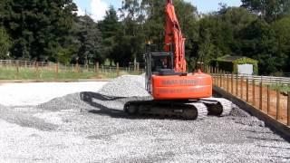 D & M Barnett Plant Hire 13T 360° Excavator