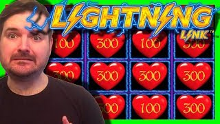 LIGHTNING LINK!!! 6 Different Versions!!! LIVE PLAY and Bonuses