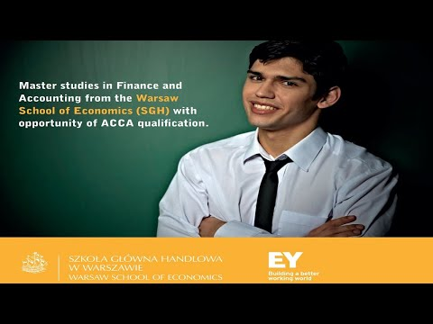 Future, career, studies? Finance and Accounting in English at SGH