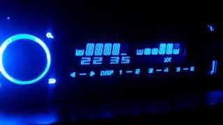 Магнитола Pioneer DEH-X5600BT ( мигание подсветки под басс)