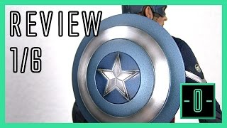 Hot Toys Captain America Stealth STRIKE suit 1/6 video review MMS242
