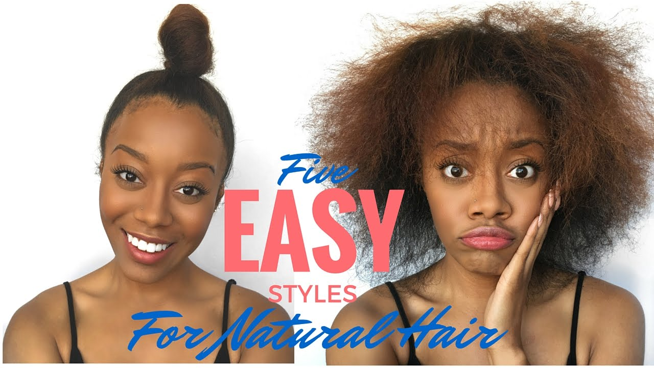 natural hair styles images easy hair styles for beginners 8940 | maxresdefault