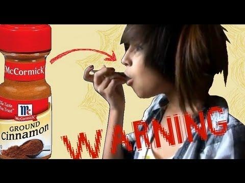 I Do the Cinnamon Challenge