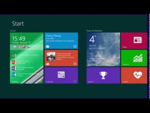 Live tiles from Microsoft Research